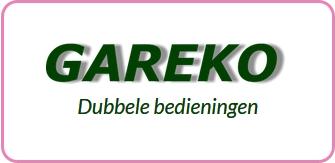 Logo Gareko Dubbele bedieningen
