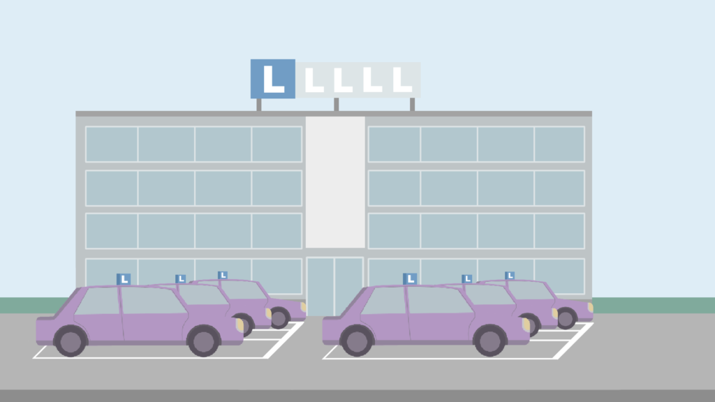 Animatie afbeelding grote rijschool