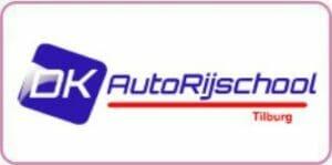 Logo DK Autorijschool uit Tilburg