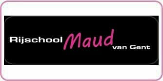 Logo Rijschool Maud van Gent