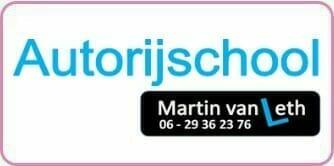Logo Rijschool Martin van Leth