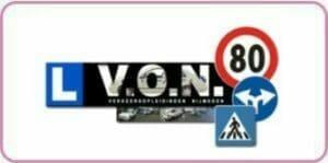Logo Rijschool V.O.N.