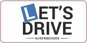 Logo Rijschool lets Drive