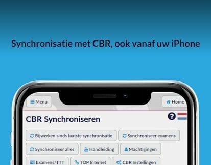 Synchronisatie met CBR, ook vanaf uw iPhone