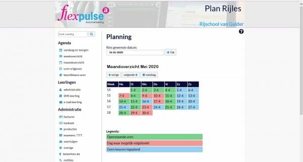 Planning in PlanRijles