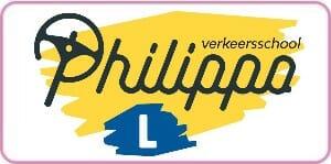 logo verkeersschool Philippo kader