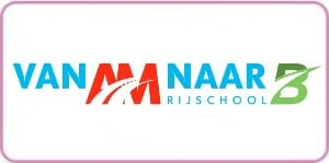 Logo Am naar B kader