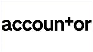 Accountor website logo