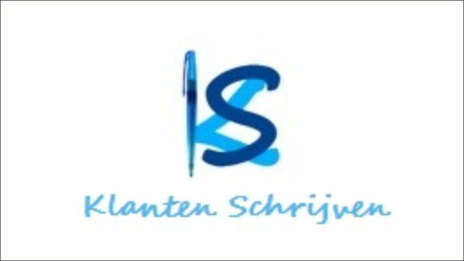 Klanten Schrijven website logo