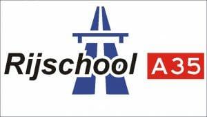Rijschool A35 Frame website logo