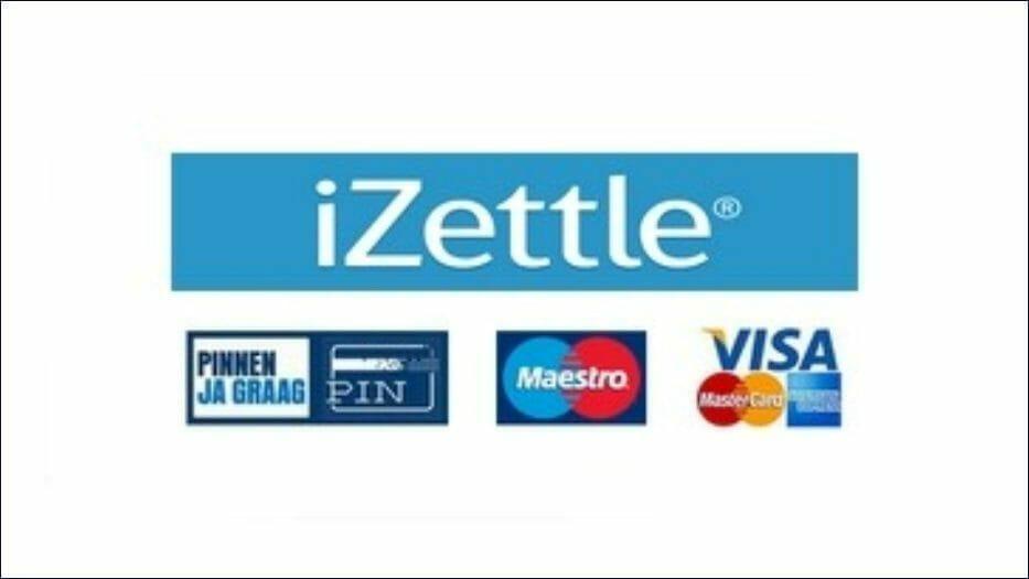 iZettle Frame website logo